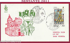ITALIA FDC VENETIA 608 1986 CATANIA LE CANDELORE ANNULLO Y13