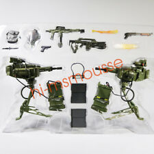 NECA Aliens USCM Arsenal Weapons Accessory Set Alien Marine Pack of 14 Pcs Loose