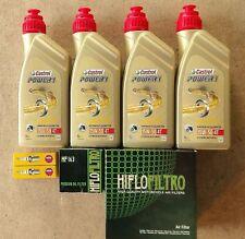 KIT TAGLIANDO 4 LITRI CASTROL 15W50 - F.OLIO - F. ARIA CANDELE BMW R 1200 GS