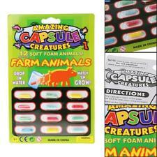 4PCS Magic Grow Kapseln Baby Cognition Toys Lernspielzeug größer im Wasser