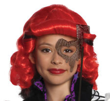 Monster High Operetta Child Girls Red Wig With Black Side Costume Rubies