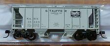 Atlas TM N #50001831 Stauffer Chemical PS-2 2-Bay Covered Hopper Rd #31344