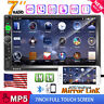 """2DIN 7"""" HD Car Stereo Radio Bluetooth Touch Screen SD/TF AUX IN USB MP5 Player"""