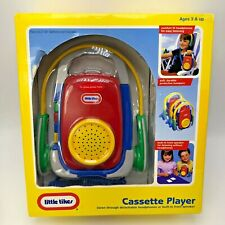 Vintage New Little Tikes Cassette Player With Headphones Sealed Tape Player 1996