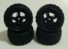Remo P6973 Wheels & Tires (4) Assembly RC Parts Smax 1:16 Truck Desert Buggy New