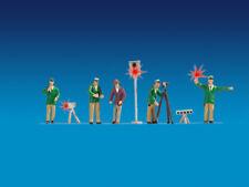 Noch 17552 ESCALA H0,FIGURAS Agentes de la Policía ALEMANIA,verde,iluminación #