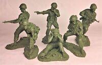 Plastic Platoon Vietnam War 1st Cavalry Division Rubber material 1/32