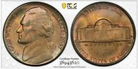 1947-D PCGS MS66 Jefferson Nickel 5C Nice Toning