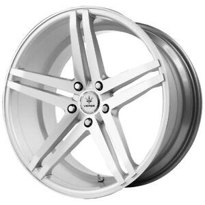 "Verde V39 Parallax 20x9 5x112 +32mm Silver Wheel Rim 20"" Inch"