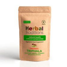 Organic Triphala Capsules - For Healthy Digestion