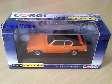 Corgi Vanguards - Ford Capri Mk1 1.6GT XLR 'Vista Orange' Ltd. 3000 - 1/43 NEW