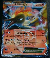 Holo Foil Moltres EX # 14/135 B&W Plasma Storm Set Pokemon Cards Team Valor HP