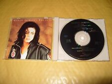 Michael Jackson Who Is It 5 Track cd 1993 Excellent + Condition