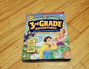 1997 The Learning Company 3rd Grade Adventures CD-ROM Math Reading Science
