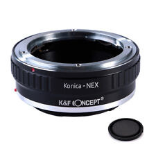 K&F Concept adapter for Konica AR mount lens to Sony E mount NEX a5000 A7II,A7R