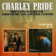 Charley Pride - There's a Little Bit of Hank in Me / Burgers [New CD] UK - Impor