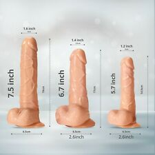 Waterproof-G-spot-Massager-Dildo-Female-Adult-Sex Toy-Male-Realistic penis
