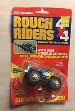 1980's Unused W/card Ljn rough riders 4x4 Stomper FLAME THROWER PICK UP 🔥