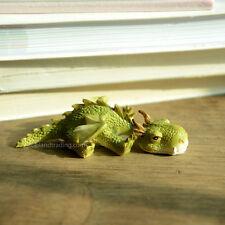 Miniature Fairy Garden SLEEPY MINI DRAGON (NEW)