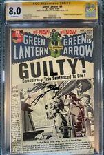 Green Lantern  80   CGC 8.0 SSx2 (Neal Adams/Denny O'Neil)   Green Arrow team-up