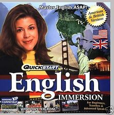 QUICKSTART IMMERSION ENGLISH. A POWERFUL LEARNING TOOL. SHIPS FAST / SHIPS FREE!