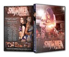Official Shimmer Women Athletes Volume 68 Female Wrestling Event DVD