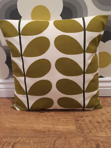 Orla Two Stem Olive Cushion Cover All Sizes 16 inch