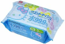 Hello Kitty Wet tissue paper 80pieses ×3