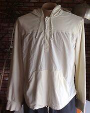$98 - NWT Armani Exchange A|X AX Pullover Hoodie Shirt Cream hooded Men's XL