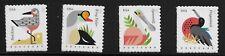 US Scott #4991-94, Singles 2015 Coastal Birds VF MNH
