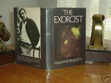 THE EXORCIST By WILLIAM PETER BLATTY 1971 FIRST EDITION