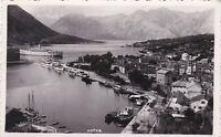 * MONTENEGRO - Kotor / Cattaro - View, Steamship 1941