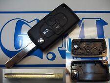 Llave cover shell para CONTROL REMOTO FIAT ULYSSE 4 BOTONES LEA BIEN BUENO NO