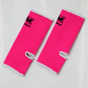 ANKLE guard KIDS SIZE PROTECTIVE SUPPORTS GEAR WRAP MUAY THAI BOXING KARATE