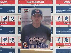 1999 Équipe Best Autographes #62 Jason Tyner Tp