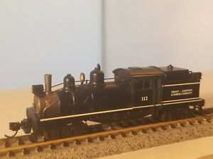 N Scale Atlas 2-Truck-Shay, standard DC, FROST Lumber Company #112, very rare, r