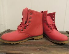 ❣COOLE~BOOTS~IN~LEDER~OPTIK~ROT~Gr.39❣