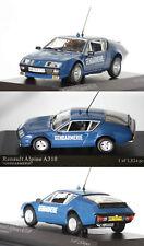 "Minichamps Renault Alpine A310 ""Gendarmerie"" 1976 1/43 400113590"