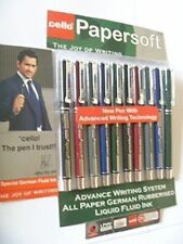 CELLO-PAPER-SOFT-BALL-POINT-PENS-PACK-OF-10-X-1-FREE-SHIPPING-LOWEST-PRICE