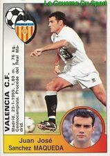 383 MAQUEDA ESPANA VALENCIA.CF STICKER CROMO LIGA 1995 PANINI