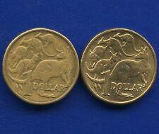 1984 & 1985 Australia 1 Dollar Coins
