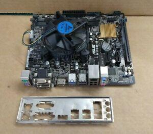 ASUS H110M-R LGA1151 mATX Motherboard Bundle + i5-7500 CPU, Heatsink & IO Plate