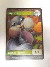 SCG Squirrel Token x1 Star City Games Game Night FOIL PROMO Token UNUSED