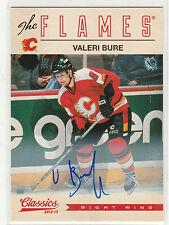 2012 12-13 Classics Signatures Autographs #54 Valeri Bure