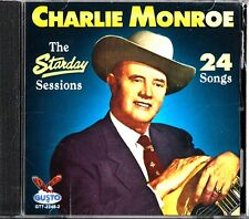 CHARLIE MONROE: The Starday Sessions 24 Songs- Country/Bluegrass CD (2011)