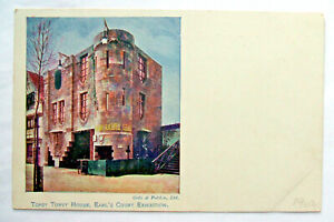 Postcard - TOPSY TURVY HOUSE, EARL'S COURT EXHIBITION, 1902, Gale & P (MISC3-13)