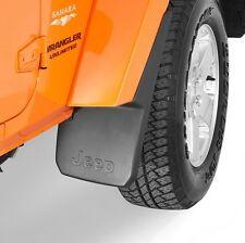 Jeep Wrangler JK 07-15 Mopar Splash Guards Mud Flaps - Front & Rear - OEM
