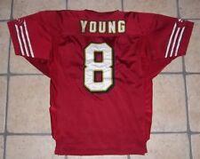 Vrai maillot de S.Young de 1996 - Edition spécial pour 50 ans des 49ers - BE