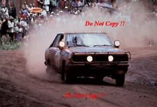 Rauno Aaltonen & Lofty Drews Datsun 160J Safari Rally 1978 Photograph 1