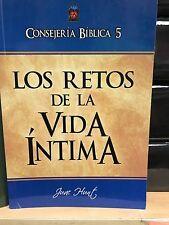 Los Retos De La Vida Íntima Consejeria Bibliaca (June Hunt